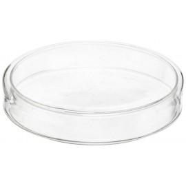 Karmnik - śr. 3,5 cm - szklana miseczka na pokarm