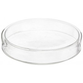 Karmnik - śr. 6 cm - szklana miseczka na pokarm
