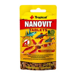 TROPICAL NANOVIT TABLETS 70 szt