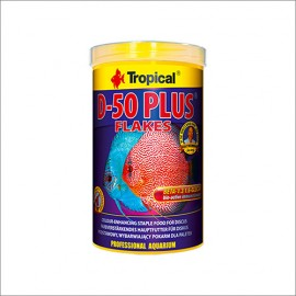 Tropical D-50 Plus Flakes 1000 ml