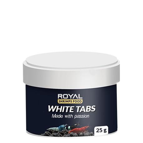 Royal Shrimps Food WHITE TABS 25 gram