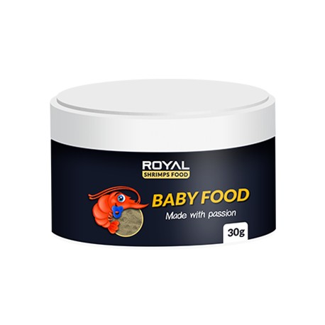 Royal Shrimps Food BABY FOOD 25 gram