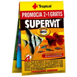 Tropical 2+1 GRATIS (Supervit • Vitality & Color • 3-Algae)