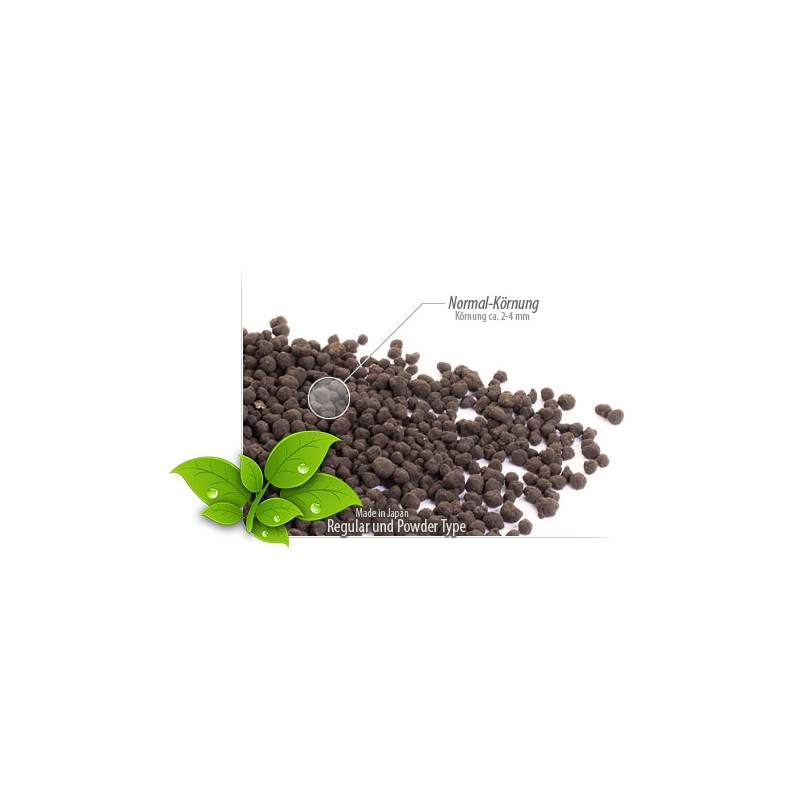 Glasgarten environment aquarium soil 9 l super pod o e for Soil environment