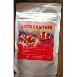 Genchem Astaxanthin 50 gram - kolor - astaksantyna