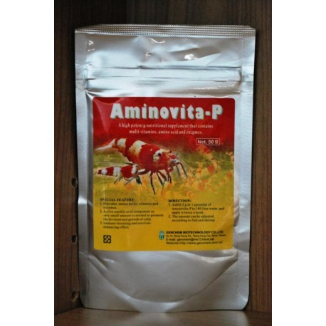 Genchem Aminovita-P - 50 gram odporność krewetek