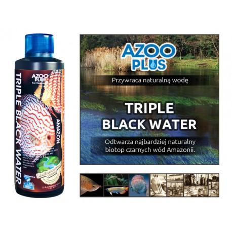AZOO PLUS TRIPLE BLACK WATER - Kwasy humusowe Black Water - 120 ml